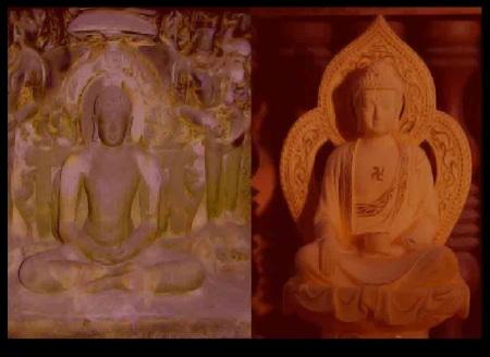 Mahavira and Buddha
